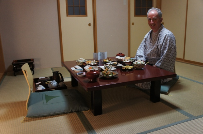 And my personal favourite, Dad smiles at food.